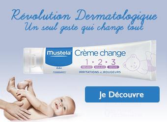 Mustela Crème de change