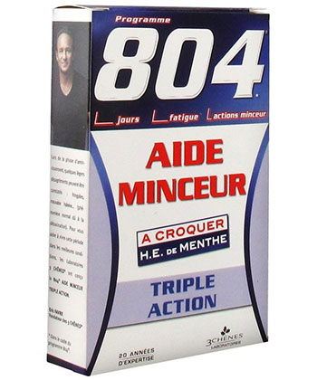 3 Chênes 804 Aide Minceur Triple Action