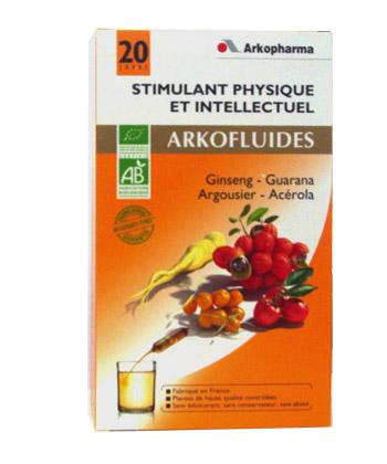 Arkofluides Stimulant Physique et Intellectuel