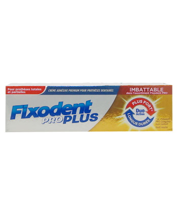 Fixodent ProPlus Duo Action