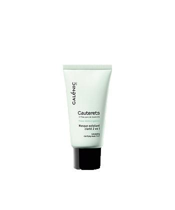Galénic Cauterets Masque Exfoliant Clarté 2 en 1