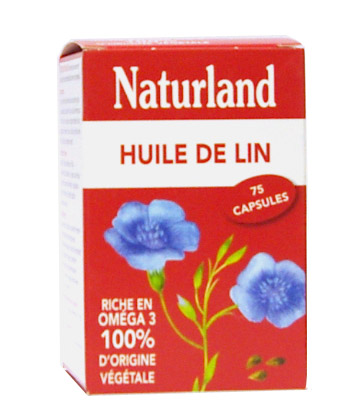Naturland Huile de Lin