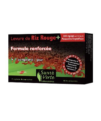 Santé Verte Levure de Riz Rouge+