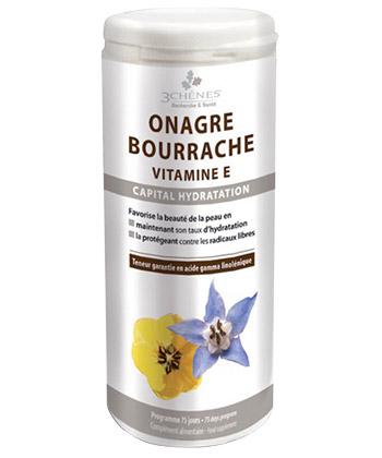 Onagre Bourrache Vitamine E