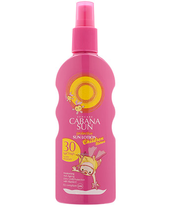 Cabana Sun Sun Lotion Kids