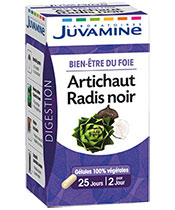Juvamine Artichaut Radis noir