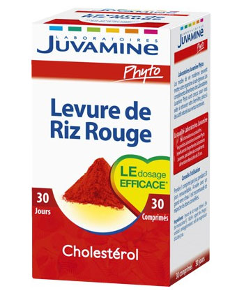 Juvamine Levure de riz rouge