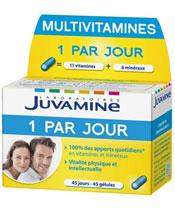 Juvamine Multivitamines 1 par jour