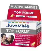 Juvamine Multivitamines Top Forme