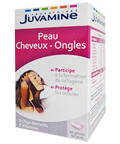 Juvamine Peau Cheveux Ongles