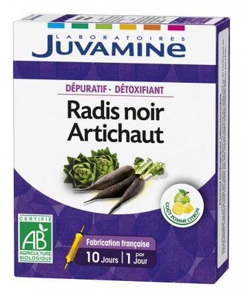 Juvamine Radis Noir et Artichaut