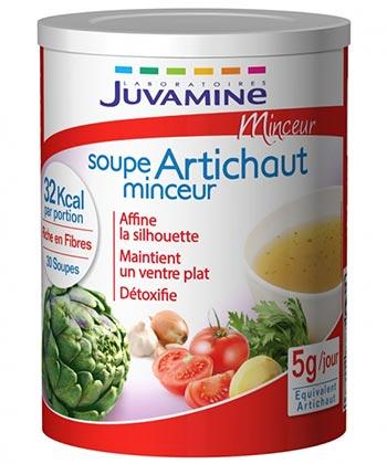 Juvamine Soupe Artichaut Minceur