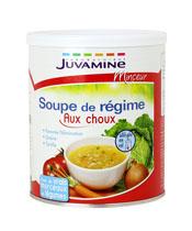 Juvamine Soupe de régime au choux