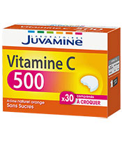 Juvamine Vitamine C 500 Sans Sucres