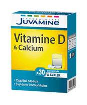 Juvamine Vitamine D & Calcium