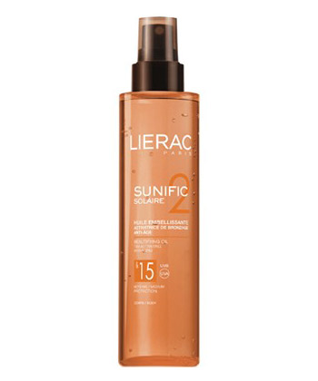 Lierac Sunific Huile Embellissante SPF 15