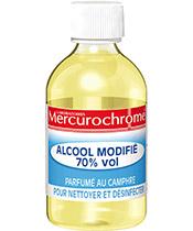Mercurochrome Alcool à 70° modifié