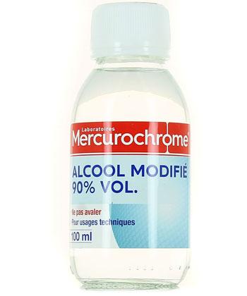 Mercurochrome Alcool à 90° modifié