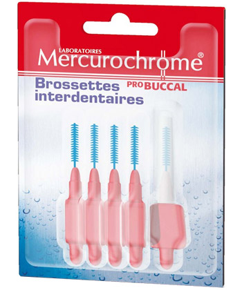 Mercurochrome Brossettes interdentaires