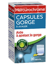 Mercurochrome Capsules Gorge