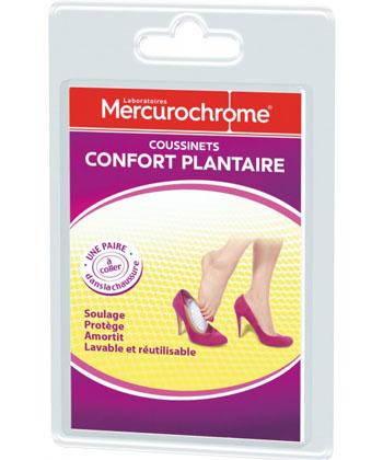 Mercurochrome Coussinets Confort Plantaire