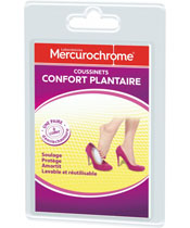 Mercurochrome Coussinets Confort Plantaire