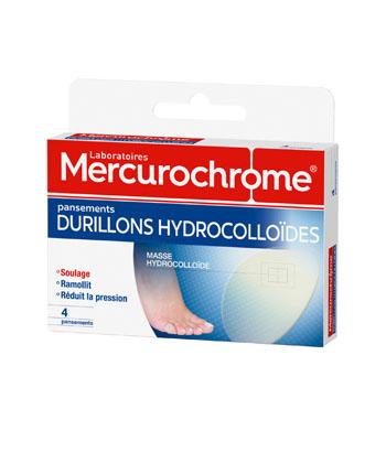 Mercurochrome Pansements hydrocolloïdes durillons
