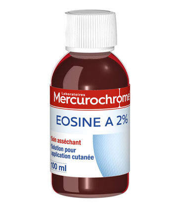 Mercurochrome Solution d'Eosine à 2%