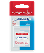 Mercurochrome Fil Dentaire Mentholé