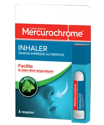 Mercurochrome Inhaler