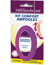Mercurochrome Kit Confort Ampoules