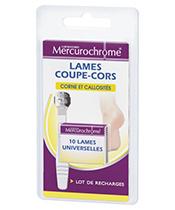 Mercurochrome Lames Coupe-Cors Universelles