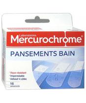 Mercurochrome Pansements Bain