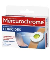 Mercurochrome Pansements Coricides