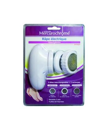 Mercurochrome Râpe Electrique