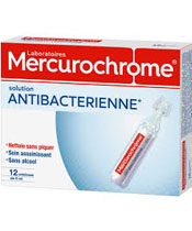 Mercurochrome Solution Antibactérienne