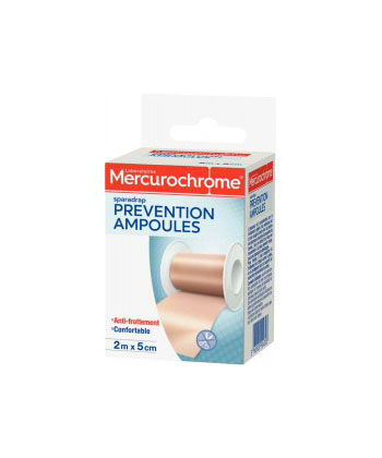 Mercurochrome Sparadrap Prévention Ampoules