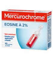 Mercurochrome Eosine à 2%