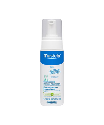 Mustela Shampooing Mousse Nourrisson