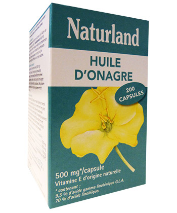 Naturland Huile d'Onagre