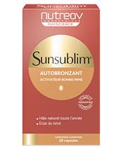 Nutreov Sunsublim Autobronzant Ultra