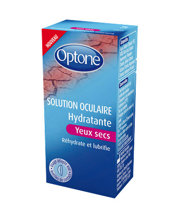 Optone Solution Oculaire Hydratante