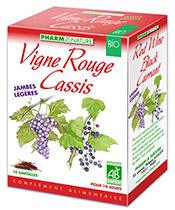 Pharm & Nature Vigne rouge Cassis