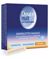 Douce Nuit Bandelettes nasales