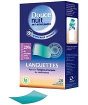 Douce Nuit Languettes Anti-Ronflement