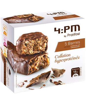 Protifast 4:pm Barre Chocolat Croquant