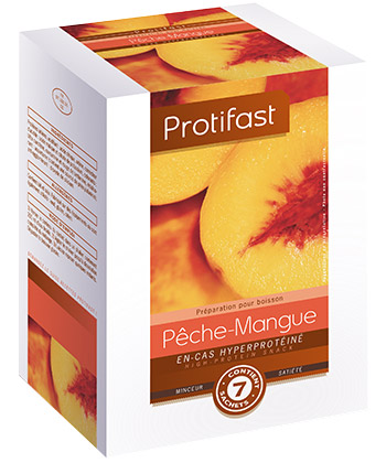 Protifast Boisson Pêche Mangue