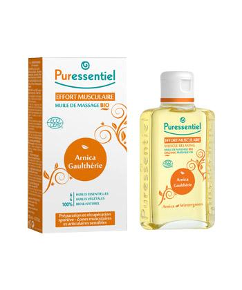 Puressentiel Huile de Massage Bio Effort Musculaire Arnica / Gaulthérie