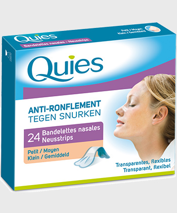 Quies Bandelettes Nasales Anti-Ronflement
