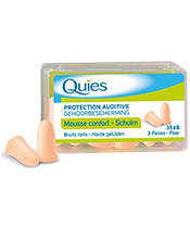 Quies Protections Auditives en Mousse